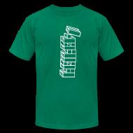 T-Shirts ~ Men's T-Shirt by American Apparel ~ Mens - Bocks Falling