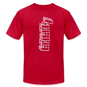 T-Shirt War Blocks - Men's T-Shirt by American Apparel