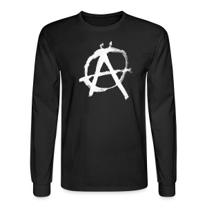 Anarchy Circle-A - Men's Long Sleeve T-Shirt