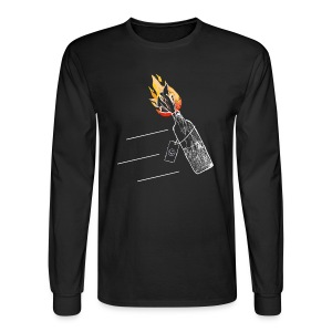 Molotov Cocktail - Men's Long Sleeve T-Shirt