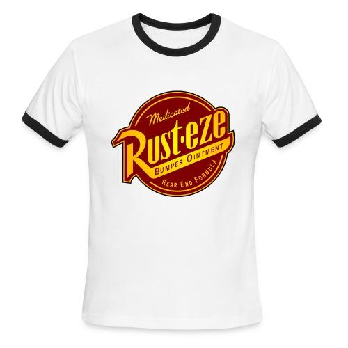 Rust-eze ringer tee - Men's Ringer T-Shirt