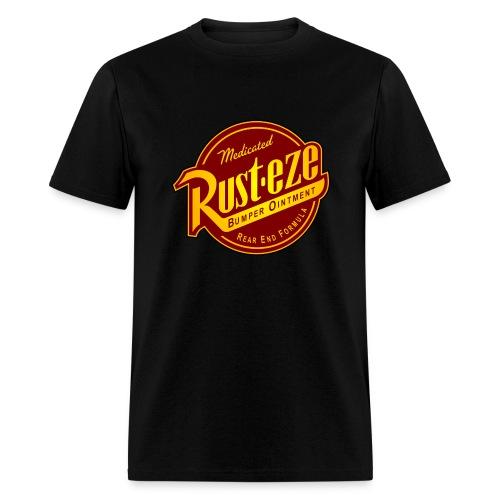 Rust-eze black mens t-shirt - Men's T-Shirt