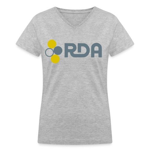 RDA woman V-neck tee - Women's V-Neck T-Shirt