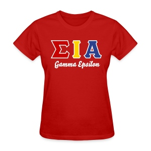 SIA Custom GE Grad Chapter Shirt - Women's T-Shirt