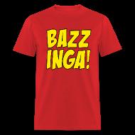 T-Shirts ~ Men's T-Shirt ~ BAZZINGA T-Shirt - Exclusive New Design