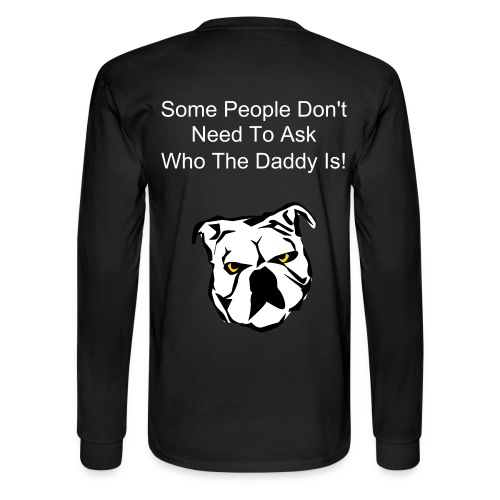 Daddy Long T Back - Men's Long Sleeve T-Shirt