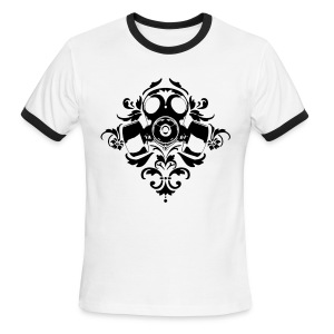Gas Damask - Men's Ringer T-Shirt