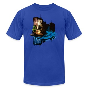 Slick City - Men's T-Shirt by American Apparel