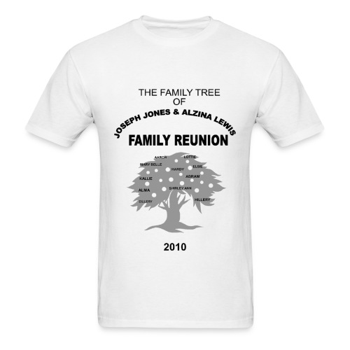 Jones - Lewis Reunion 2010 - Men's T-Shirt