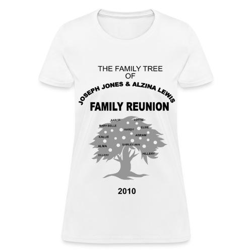 Jones - Lewis Reunion 2010 - Women's T-Shirt