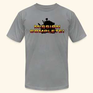 Mission Complete! - Men's T-Shirt by American Apparel