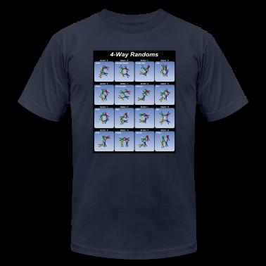 Navy 4-Way Randoms T-Shirts