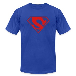 Super Skydiver - Men's T-Shirt by American Apparel