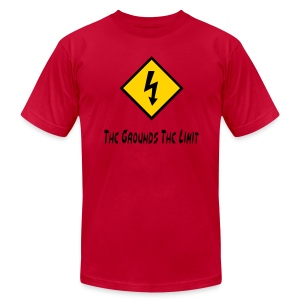 The Grounds The Limit - Men's T-Shirt by American Apparel