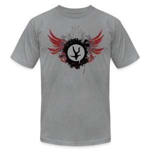 Freeflyer With Wings - Men's T-Shirt by American Apparel