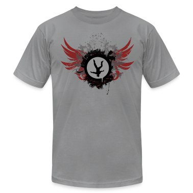 Slate Freeflyer With Wings T-Shirts
