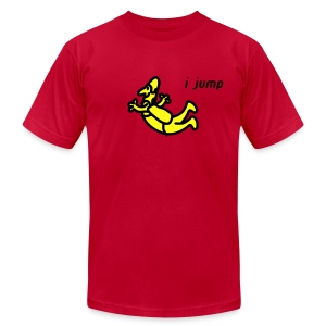 I Jump - Men's T-Shirt by American Apparel