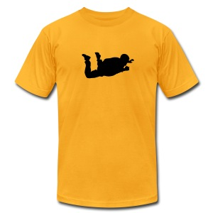 Skydiver - Men's T-Shirt by American Apparel