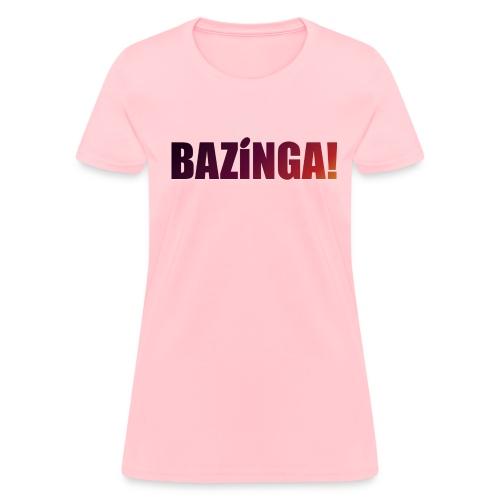 Bazinga! (Girls Tee) - Women's T-Shirt