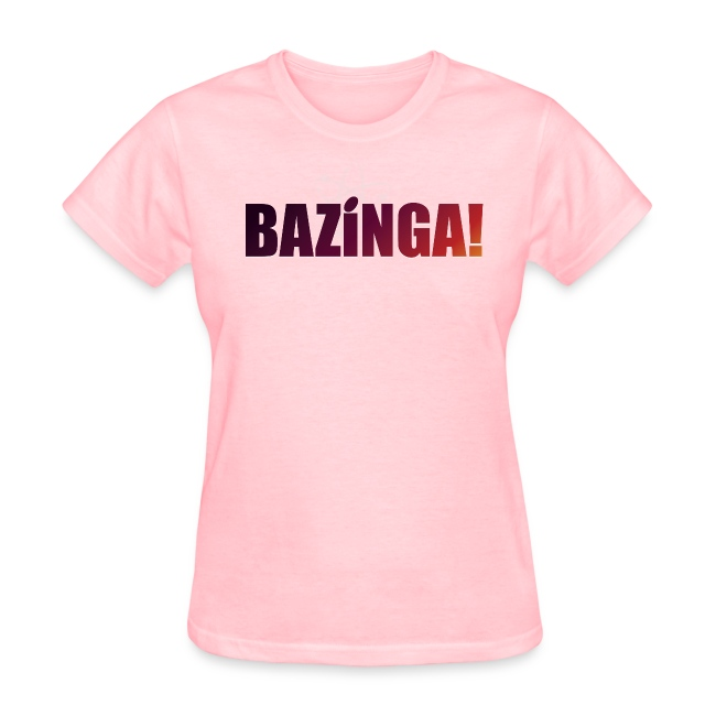 Bazinga! (Girls Tee)