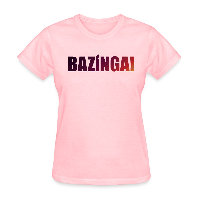 Bazinga! (Girls Tee) - Women's T-Shirt