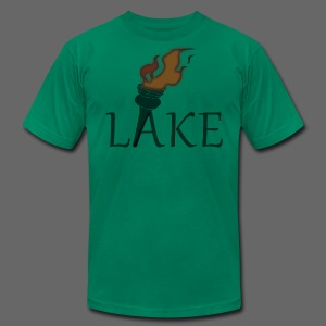 Torch Lake Men's American Apparel Tee - Men's T-Shirt by American Apparel