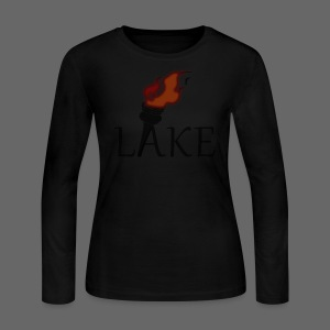Torch Lake Women's Long Sleeve Jersey Tee - Women's Long Sleeve Jersey T-Shirt