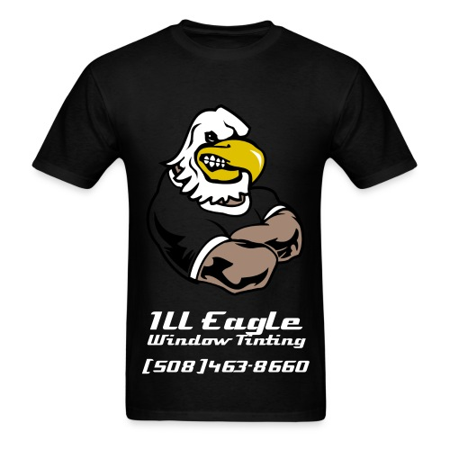 Ill Eagle Window Tinting - Men's T-Shirt