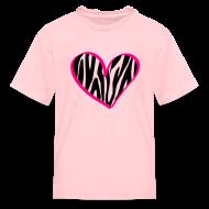 Kids' Shirts ~ Kids' T-Shirt ~ zebra print