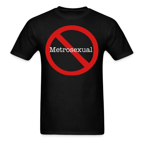 No Metro Mens Standard weight Tshirt - Men's T-Shirt