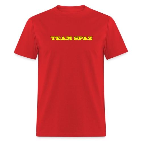 Team Spaz Words Only - Men's T-Shirt