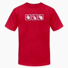 Red rock paper scissors v2 T-Shirts
