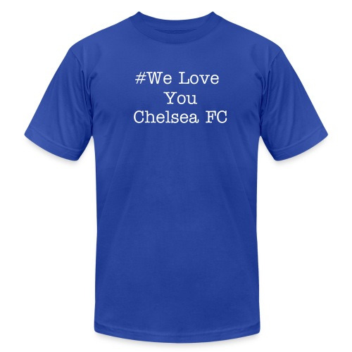 Mens We Love You Chelsea FC (SBL) - Men's  Jersey T-Shirt
