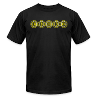 T-Shirts ~ Men's T-Shirt by American Apparel ~ CHOKE
