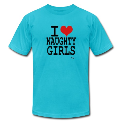 Naughty girls - Men's Fine Jersey T-Shirt