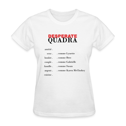 Desperate quadra - Women's T-Shirt