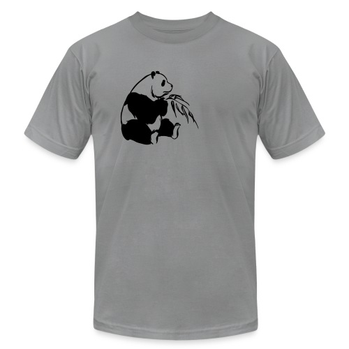 (back: that is one ugly panda bitch...) - Men's Fine Jersey T-Shirt