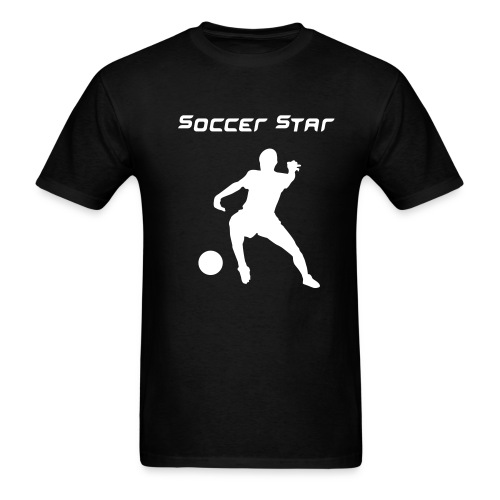 soccer star - Men's T-Shirt