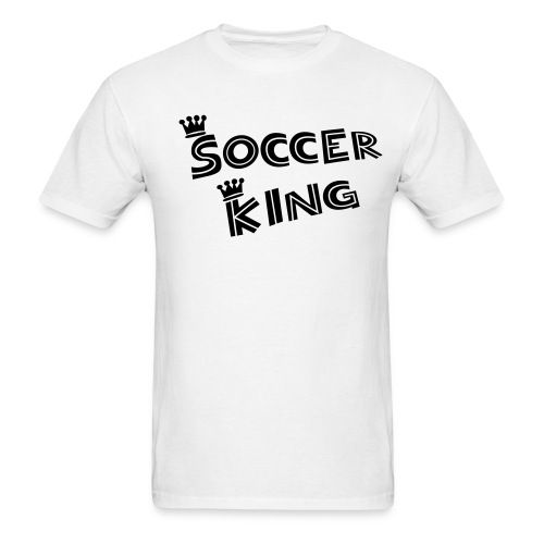 soccer king - Men's T-Shirt