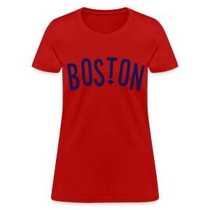 Boston Arrow Women's Standard Weight T-Shirt - Women's T-Shirt