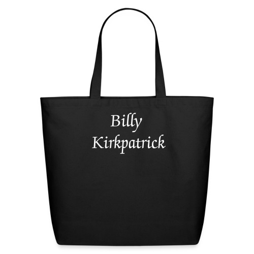 Billy Kirkpatrick Eco-Friendly Cotton Tote - Eco-Friendly Cotton Tote