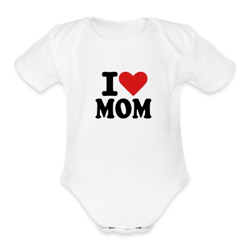 Organic Short Sleeve Baby Bodysuit - All Prices incluse 4.50 shipping...