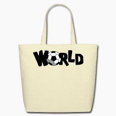 Creme WORLD CUP SOCCER BALL Bags