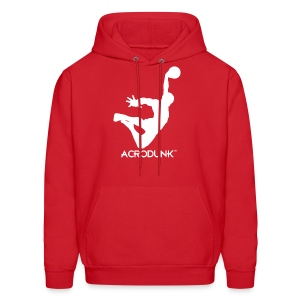 ACRODUNK white logo hoodie - Men's Hoodie