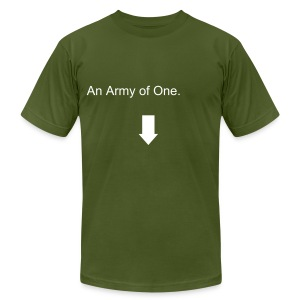 An Army of One. - Men's Fine Jersey T-Shirt