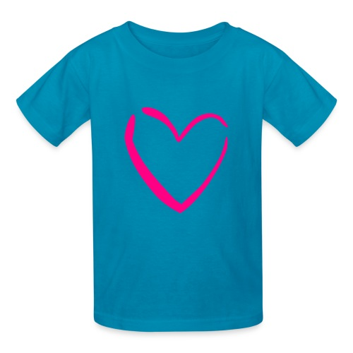 Girls heart tee - Kids' T-Shirt