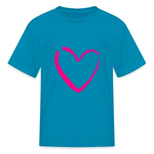 Girls heart tee - Kids' T-Shirt