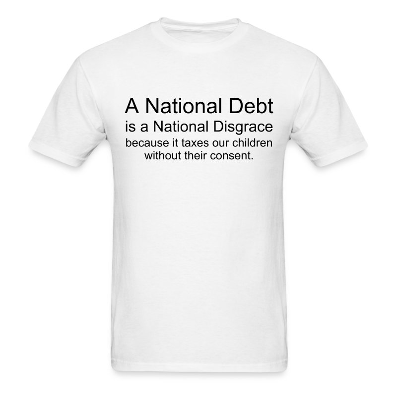 National Disgrace - Men's T-Shirt