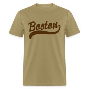 Boston Casey Script Men's Standard Weight T-Shirt - Men's T-Shirt
