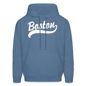 Boston Casey Script Men's Hooded Sweatshirt - Men's Hoodie